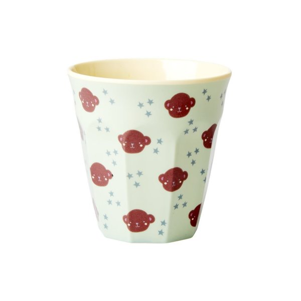 Kinderbecher, Cup Monkey small, aus Melamin von Rice